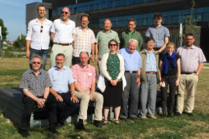 Members of the Atomic Weights Commission at the 2015 biennial meeting in Austria
